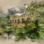 """Pont du Gard France"" by AnnG"