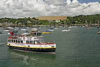 The MV Princessa, Falmouth Harbour
