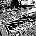 """""""Honky Tonk Piano"""" by davegafford"""