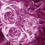 """Purple Rose Petals Abstract Home Decor"" by IrinaSztukowski"