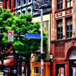 """Pittsburgh PA - Liberty Ave and Smithfield Street"" by susansartgallery"