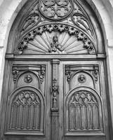 Wooden Church Door