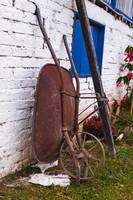 Rusted Wheel Barrel
