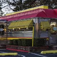 Roadside Diner 2 Art Prints & Posters by Louise Reeves