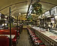 Roadside Diner Interior