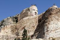 Crazy Horse Monument in Custer, South Dakota