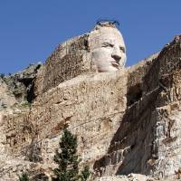 Crazy Horse Monument in Custer, South Dakota Art Prints & Posters by Jim Nesterwitz
