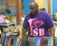 Steel Pan Man, Grand Case, St. Martin