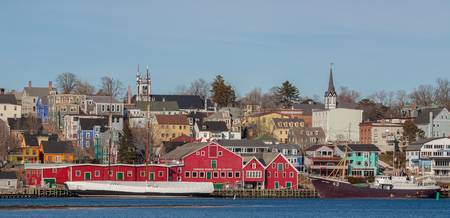 Nova Scotia Impressions, Lunenburg waterfront