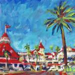 """""""Hotel del Coronado - San Diego"""" by BeaconArtWorksCorporation"""