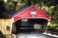Bath Covered Bridge Entrance View