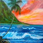 """Hawaiian Sunset"" by jennylee"