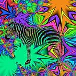 """Zebra in Jungle Blend"" by ecolosimo"