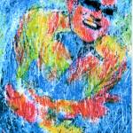 """RAY CHARLES Portrait Contemporary Art JAZZ"" by deactor"