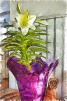 Easter Lily and Doll