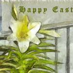 """Easter Lily"" by artbyclaire"
