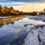 """McKinney Falls Sunrise"" by eyeates"