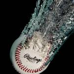 """Rawlings Baseball Splash"" by eyeates"