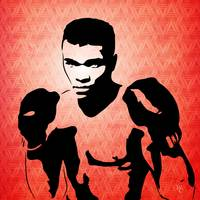 Muhammad Ali - The Greatest - Pop Art
