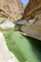 Pool in Wadi Shab, Oman