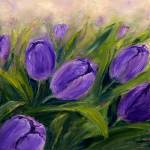 """Purple tulips"" by boyan"
