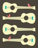 BIRDS ON GUITAR STRINGS 3