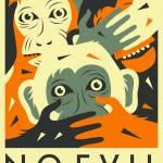 """NO EVIL 1"" by JazzberryBlue"