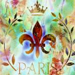 """paris  abstract"" by lizmix"