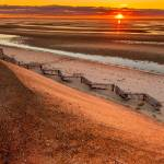"""Beach Sunset 232 Cape Cod Wall Art"" by Black_White_Photos"