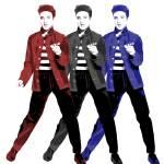 """Elvis Presley - Red, White, Blue - Pop Art"" by wcsmack"