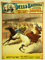 Sells Brothers United Shows Circus Poster BB-08-07