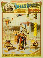 Sells Brothers United Shows Circus Poster BB-02-03