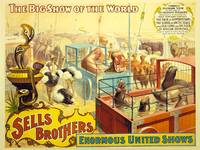 Sells Brothers United Shows Circus Poster BB-02-06