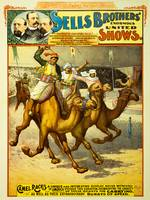 Sells Brothers Circus Poster BB-02-02