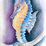 """Seahorse Inky"" by artdeep"
