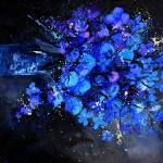 """blue still life 4561"" by pol"
