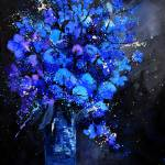 """blue still life 4561iv"" by pol"