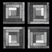 Black and White Quilt Squares