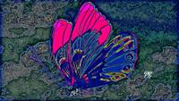 Abstract Butterfly Art 7