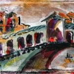 """Rialto Bridge Italy Venice Travel"" by GinetteCallaway"