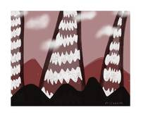 candy mountains print