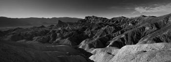 Death Valley Zabriskie Point (panoramic)