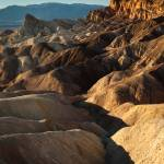 """Death Valley Zabriskie Point (tall)"" by Mun_Sing"