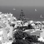 """""""Albufeira, Algarve - B&W"""" by TomGomez"""