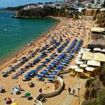 """Albufeira Beach (west end)"" by TomGomez"