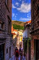 Walking around in Dubrovnik