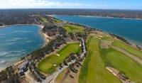 Eastward Ho Golf Course Aerial at Chatham