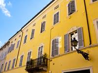 Yellow Building of Parma