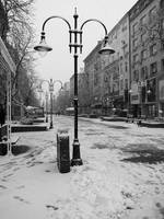 Winter on Vitosha Blvd