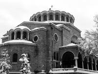 Winter Over St. Nedelya Cathedral